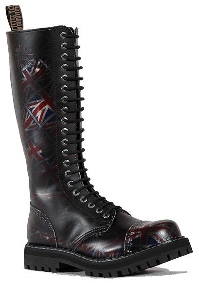 Boty Steel UK black