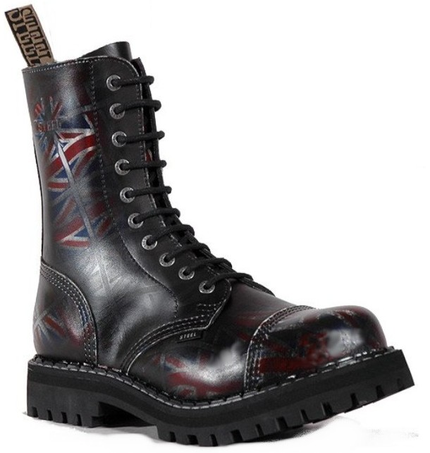 Steel UK Black